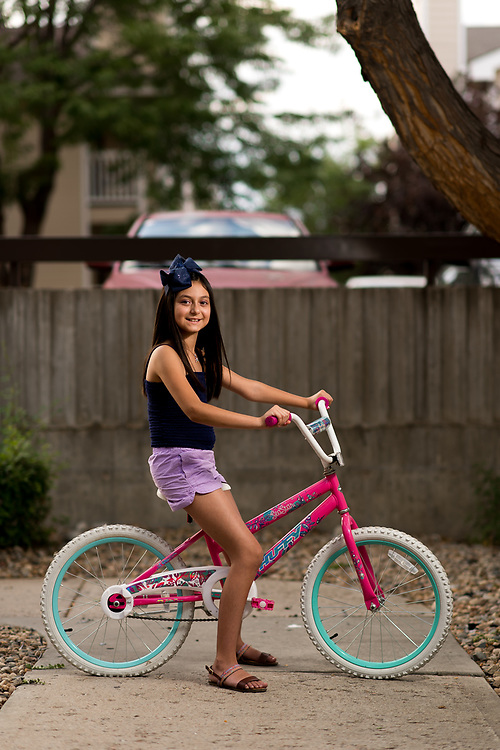DENVER, CO - AUGUST 2: Andrea Camacho poses for a portrait on August 2, 2019, in Denver, Colorado. (Photo by Daniel Petty/Denver Catholic)