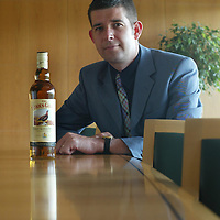 Murray Calder, Global Marketing Manager for the Famous Grouse Whisky<br /> <br />Picture by Graeme Hart.<br />Copyright Perthshire Picture Agency<br />Tel: 01738 623350  Mobile: 07990 594431