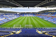 The Madejski Stadium before the Sky Bet Championship match between Reading and Derby County at the Madejski Stadium, Reading, England on 15 September 2015. Photo by David Charbit.