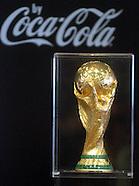 Belgrade FIFA Soccer world cup trophy