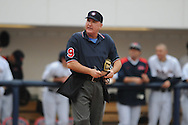 Umpire Tony Walsh at Ole Miss vs. Wright State at Oxford University Stadium in Oxford, Miss. on Friday, February 18, 2011.