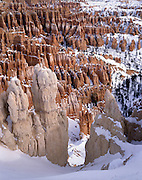 Rock Formations, Sandstone, Rock, Red, Snow, Winter, Bryce Canyon, Canyon, Cliffs, Bryce Canyon National Park, Utah