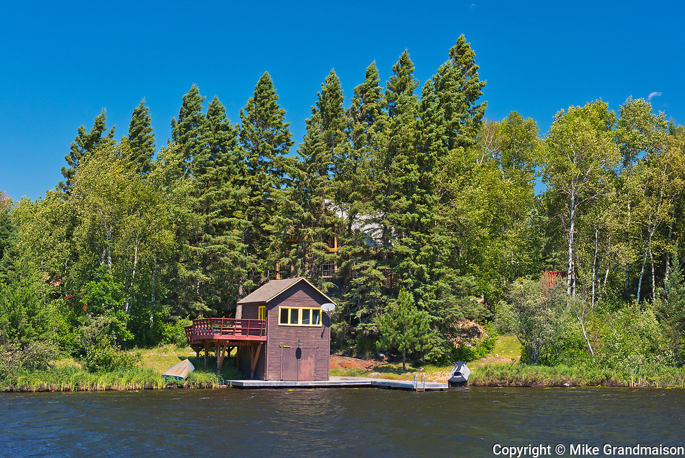 Cottage on Star Lake<br />Whiteshell Provincial Park<br />Manitoba<br />Canada