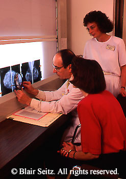 doctor, physician at work Physician, X-rays, X-ray Display, Lightbox and X-rays, Doctor, Nurse and Patient Review X-rays