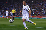BARCELONA, SPAIN - MAY 11: Ricardo Silveira Carvalho of Real Madrid CF in action during the Liga BBVA between RCD Espanyol and Real Madrid CF at the Cornella-El Prat Stadium on May 11, 2013 in Barcelona, Spain. (Photo by Aitor Alcalde Colomer).