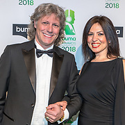 NLD/Amsterdam/20180305 - Uitreiking Buma Awards 2018, Edwin van Hoevelaak en .......