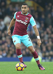 30.10.2016, Goodison Park, Liverpool, ENG, Premier League, FC Everton vs West Ham United, 10. Runde, im Bild Dimitri Payet of West Ham United in action against Everton // Dimitri Payet of West Ham United in action against Everton during the English Premier League 10th round match between FC Everton and West Ham United at the Goodison Park in Liverpool, Great Britain on 2016/10/30. EXPA Pictures © 2016, PhotoCredit: EXPA/ Focus Images/ Michael Sedgwick<br /> <br /> *****ATTENTION - for AUT, GER, FRA, ITA, SUI, POL, CRO, SLO only*****