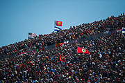 October 18-21, 2018: United States Grand Prix. Fans in the stands in Austin.