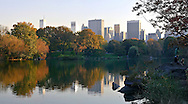 Fall in Central Park, Manhattan.