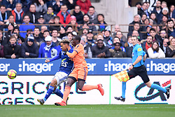 March 9, 2019 - Strasbourg, France - 27 KENNY LALA (STRA) - 22 FERLAND MENDY  (Credit Image: © Panoramic via ZUMA Press)