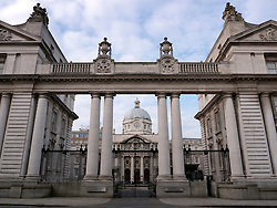 Irish Government Buildings or Dail, in Dublin home of the office of the Prime Minister or Taoiseach