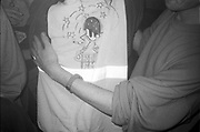 'Dream FM' DIY tee, Dream FM Pirate Radio Benefit, Labyrinth Dalston, London, 1994.
