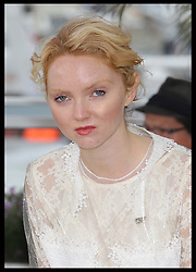 Lily Cole  at the Cannes Film Festival for her new film Confession of A Child of The Century , Sunday 20th, May 2012. Photo by: Stephen Lock / i-Images