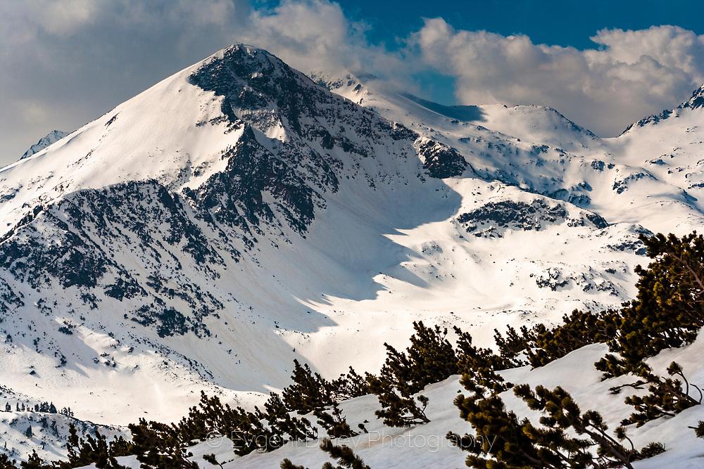 Pirin Mountain at winter