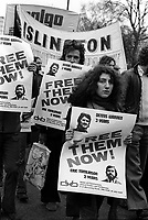 In 1975 Thousands of Trade Unions workers marched through London demanding release of communiist strike picket leaders Dennis Warren & Eric Tomlinson ( the Shrewsbruy Two)  jailed for conspiracy.
