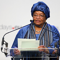 26 November 2013 - Belgium - Brussels - European Development Days - EDD - A vision for the post-2015 agenda - Ellen Johnson Sirleaf - President of Liberia © European Union