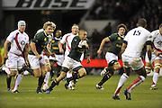Twickenham, GREAT BRITAIN, during the Investec Challenge Series, England vs South Africa  [RSA], Autumn Rugby International at Twickenham Stadium, Surrey on Sat 22.11.2008 [Photo, Peter Spurrier/Intersport-images]