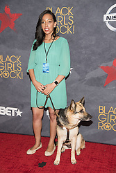 August 6, 2017 - New Jersey, U.S - HABEN GIRMA, at the Black Girls Rock 2017 red carpet. Black Girls Rock 2017 was held at the New Jersey Performing Arts Center in Newark New Jersey. (Credit Image: © Ricky Fitchett via ZUMA Wire)