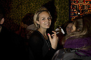 Jessie Brinton, Andrey Bartenev ' Disco-Nexion' Riflemaker. Beak St. Soho. London. 7 January 2008. -DO NOT ARCHIVE-© Copyright Photograph by Dafydd Jones. 248 Clapham Rd. London SW9 0PZ. Tel 0207 820 0771. www.dafjones.com.
