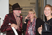 RICHARD STRANGE; LOUISA BUCK; KELLY DEARSLEY, Closing party Mayor Gallery, Cork St. London. 17 December 2013