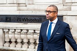 James Cleverly, Tory party chairman leaving at the Cabinet Office.<br /> <br /> Richard Hancox | EEm 30072019