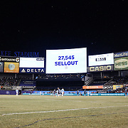 A general view of Yankee Stadium, home of New York City FC, during the New York City FC Vs Sporting Kansas City, MSL regular season football match at Yankee Stadium, The Bronx, New York,  USA. 27th March 2015. Photo Tim Clayton