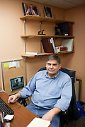 John Dehmann, January Employee of the Month, poses for a portrait at Ohio University in Athens, Ohio on Thursday, March 28, 2013. Photo by Chris Franz