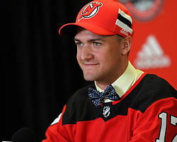 2017 NHL Draft in Chicago, Illinois on Saturday June 24, 2017. Photo by Aaron Bell/CHL Images