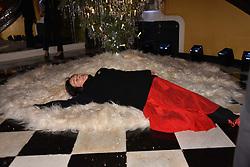Amanda Harlech at reception to celebrate the launch of the Claridge's Christmas Tree 2017 at Claridge's Hotel, Brook Street, London England. 28 November 2017.<br /> Photo by Dominic O'Neill/SilverHub 0203 174 1069 sales@silverhubmedia.com