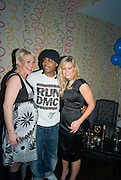 JO O'MEARA AND BRADLEY MCINTOSH FROM S CLUB 7 AND SUZANNE SHAW. Bingo Lotto launch party. Soho Hotel Richmond Mews. London. 29 February 2008.  *** Local Caption *** -DO NOT ARCHIVE-© Copyright Photograph by Dafydd Jones. 248 Clapham Rd. London SW9 0PZ. Tel 0207 820 0771. www.dafjones.com.