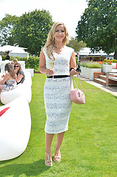 HEIDI RANGE at the Audi International Polo at Guards Polo Club, Windsor Great Park, Egham, Surrey on 26th July 2014.