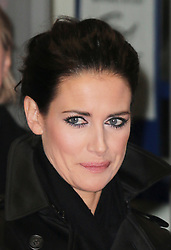 © Licensed to London News Pictures. Kirsty Gallacher presenting on the red carpet at The Class of 92  World Film Premiere at The Odeon West End, Leicester Square, London on 01 December 2013. Photo credit: Richard Goldschmidt/LNP