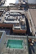 New York, the rooftop terrace of the bar Ink 48 on eleven avenue /  la. terrace du bar print 48 New York