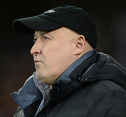 Cardiff City Manager, Russell Slade. - Photo mandatory by-line: Alex James/JMP - Mobile: 07966 386802 - 17/02/2015 - SPORT - Football - Cardiff - Cardiff City Stadium - Cardiff City v Blackburn Rovers - Sky Bet Championship