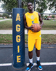 2014-15 A&T Men's Basketball Team Pictures
