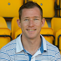 3.6.2011. St Johnstone FC new signing Fraser Wright at McDiarmid park today.<br /> COPYRIGHT: Perthshire Picture Agency.<br /> Tel. 01738 623350 / 07775 852112.
