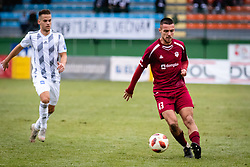 David Tijanic of NK Triglav Kranj and Tomi Horvat of MS Mura during football match between NŠ Mura and NK Triglav in 19th Round of Prva liga Telekom Slovenije 2018/19, on December 9, 2018 in Fazanerija, Murska Sobota, Slovenia. Photo by Blaž Weindorfer / Sportida