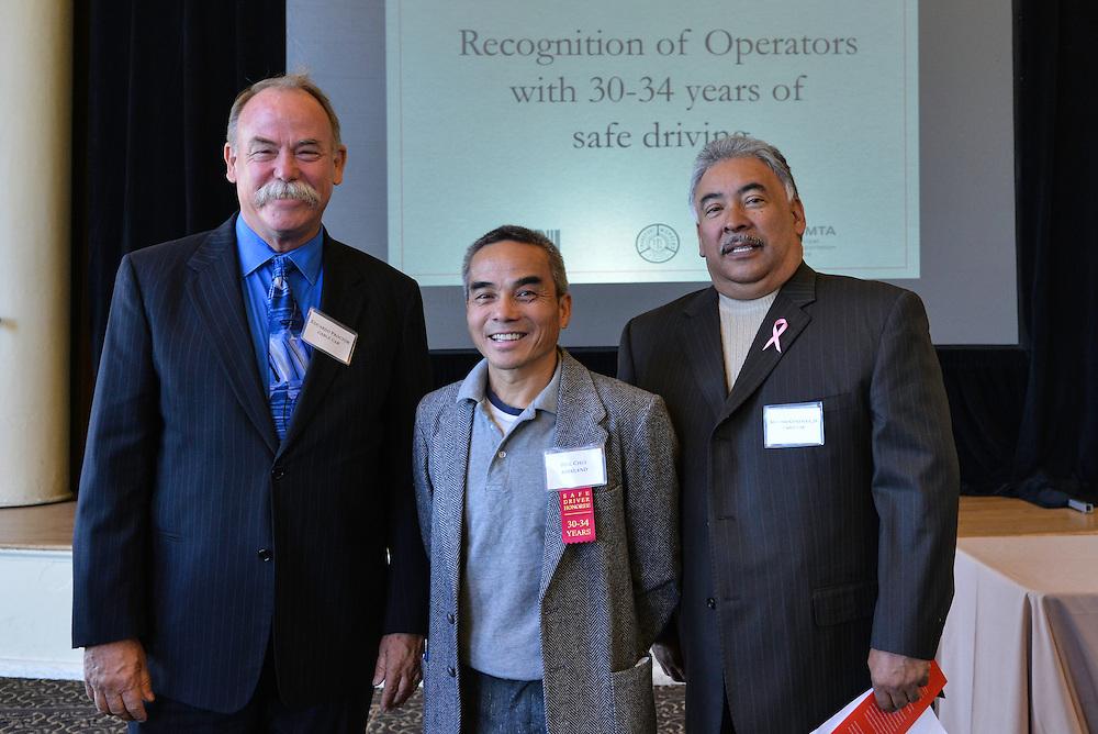Safe Driver Awards Ceremony  | October 5, 2014