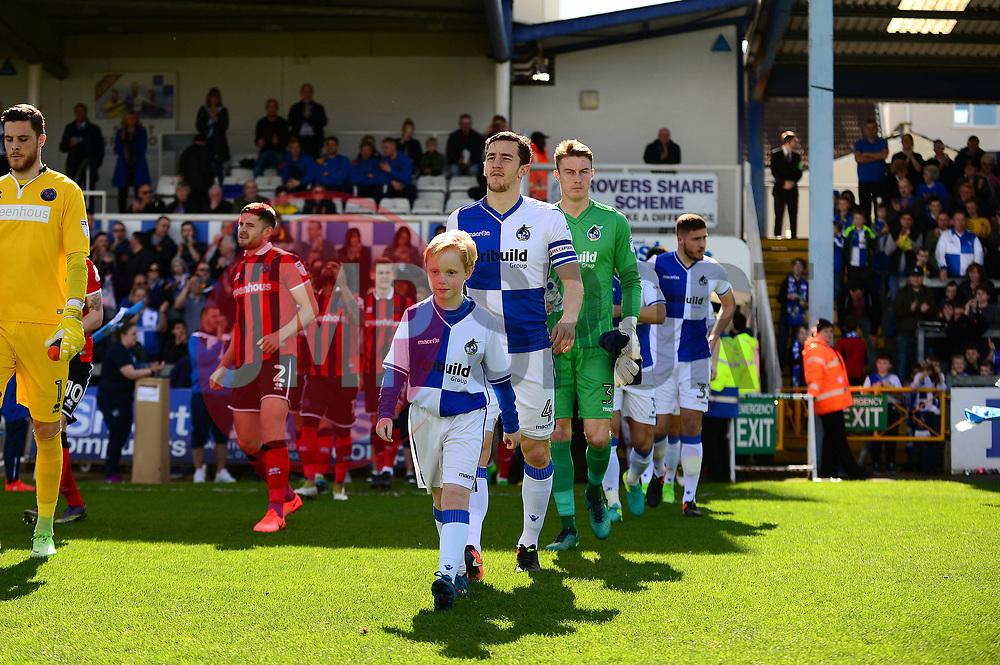Mascot  - Mandatory by-line: Dougie Allward/JMP - 01/04/2017 - FOOTBALL - Memorial Stadium - Bristol, England - Bristol Rovers v Northampton Town - Sky Bet League One