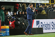England Manager Gareth Southgate during the International Friendly match between Germany and England at Signal Iduna Park, Dortmund, Germany on 22 March 2017. Photo by Phil Duncan.