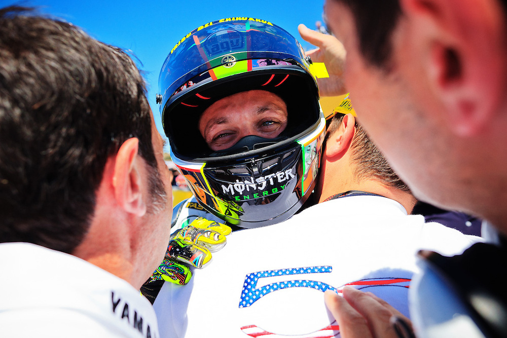 Valentino Rossi / Fiat Yamaha Team /  Monster / AGV<br /> All rights reserved. Unauthorized reproduction of images is strictly prohibited.