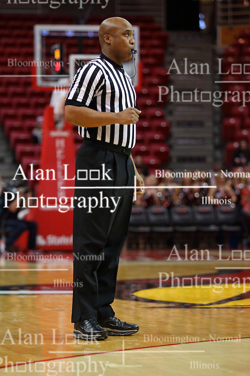 26 November 2016:  Ervin Wilson during an NCAA  mens basketball game between the Ferris State Bulldogs the Illinois State Redbirds in a non-conference game at Redbird Arena, Normal IL