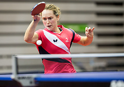 Walloe Sophie Amanda of Denmark in action during Day 3 of SPINT 2018 - World Para Table Tennis Championships, on October 19, 2018, in Arena Zlatorog, Celje, Slovenia. Photo by Vid Ponikvar / Sportida