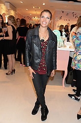 TV presenter PIPS TAYLOR at the launch of the Benefit Global Flagship Boutique at 10 Carnaby Street, London on 11th September 2013.
