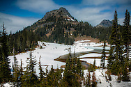 Tipsoo Lake near Chinook Pass - Mt. Rainier National Park, WA