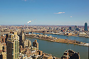View of the East River from 100 United Nations Plaza, 49th floor