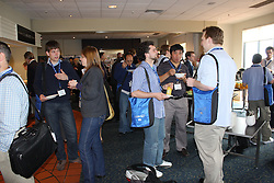 Synchrotron AO Week. AO Week delegates networking at morning tea