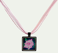 Glass Art and Necklace Examples