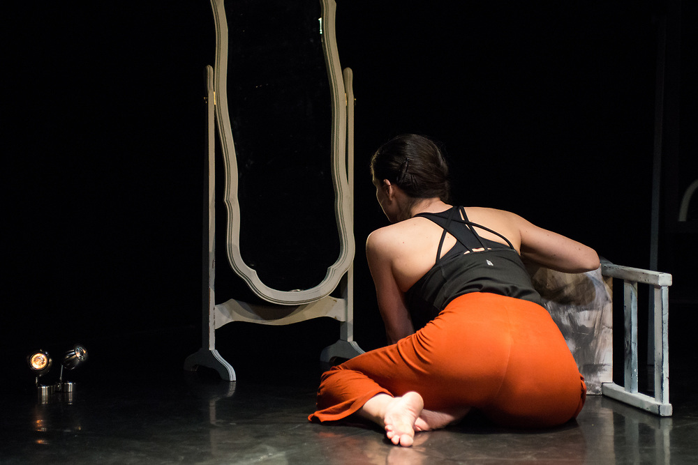 Performance of 'Foreign Body' by Imogen Butler-Cole at Rich Mix London on 19 March 2017 © Chantal Guevara