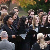 Tupelo High School Chorus performed Sunday for the Veterans Day Ceremony held at Veterans Park